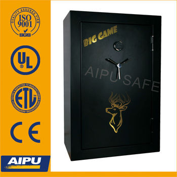 Fireproof gun safe box with UL listed SecuRam Electronic lock RGS593924-E/gun safe box/safe gun/gun safe cabinet