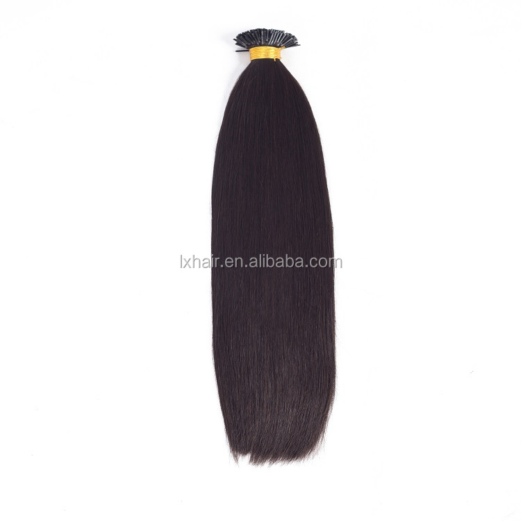 alibaba express malaysia hair 1g/strand stick tip 100% Virgin Indian human i tip hair
