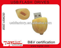 Promotional Custom Nut Shape USB Memory Drives