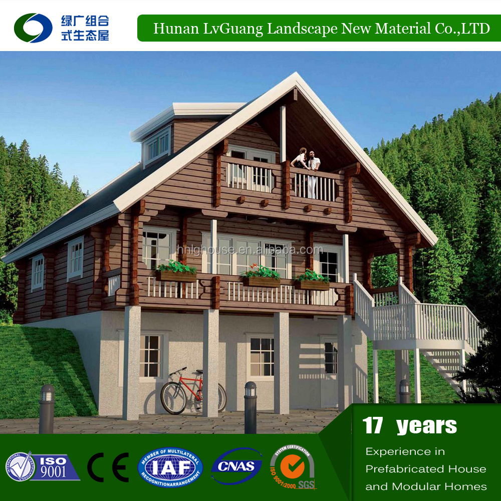 Low Price Made in China Well Designed Modern Container Modular house ready wood house
