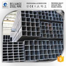 weight square hollow steel tube steel square post base plate