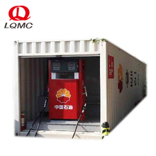 40ft single wall double oil type portable container filling station