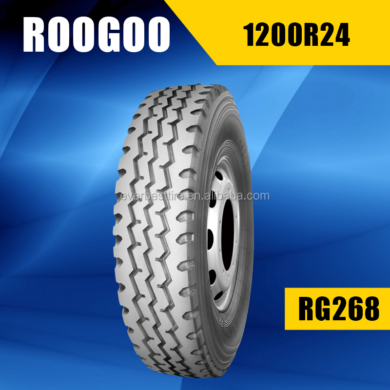 China Heavy Duty Radial Truck Tyre 12.00r24 Tire On Promotion