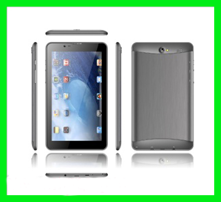 7 inch city call android phone tablet pc built in MTK8312 dual core with gps/bluetooth/3G/fm