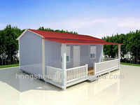 Cold and heat insulation modular home / pre made housing house plan