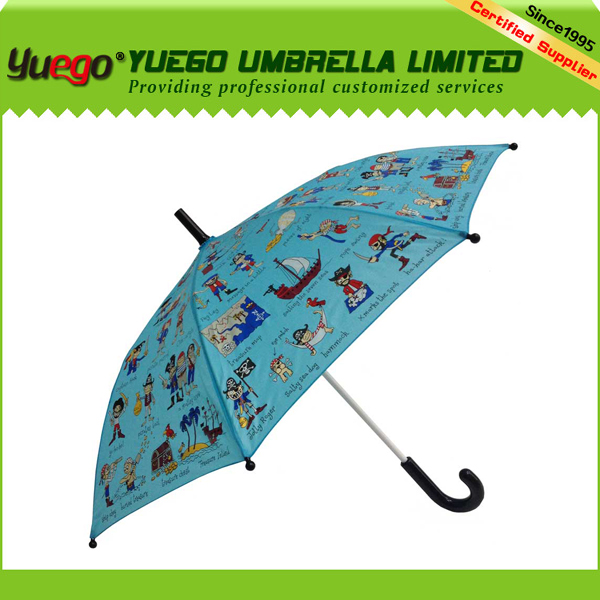 wholesale straight auto open small umbrella for kids