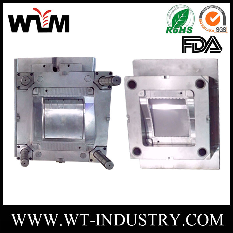China custom home appliance injection plastic mold process