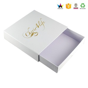 Small walmart packaging drawer gift boxes