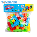 Most Popular Kids Toys ABS Material 63pcs Outdoor Building Blocks