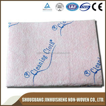 High quality needle punched nonwoven cleaning wipes for kitchen