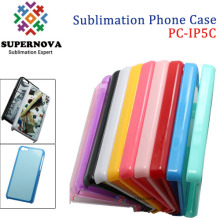 2D Sublimation Transfer Phone Case for iPhone 5C