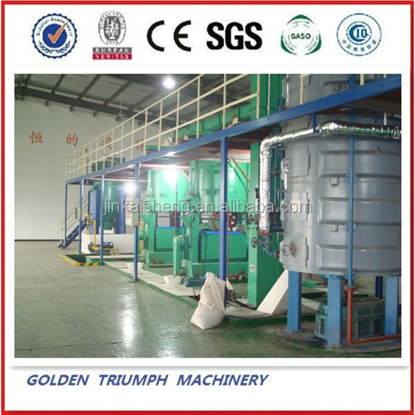 soya bean oil extraction machine/soybean oil extraction plant is made in China /High grade edible oil extraction line