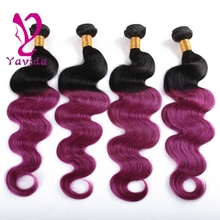 body wave brazilian hair ombre 8a brazilian hair colored brazilian hair weave 3pc/lot free shipping