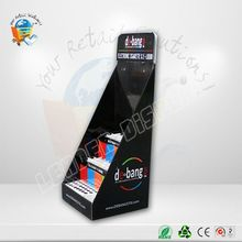 magnetic storage tin/cans cardboard counter display for pop custom cosmetic display