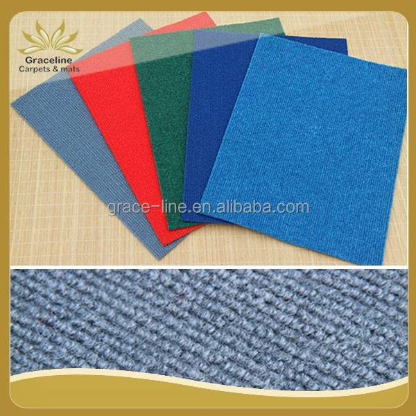 Polyester Ribbed Indoor Outdoor Carpet Low Price
