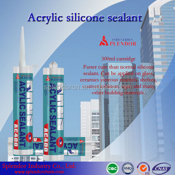 acrylic silicone sealants ssd solution/acid silicone sealant/splendor acid silicon sealants