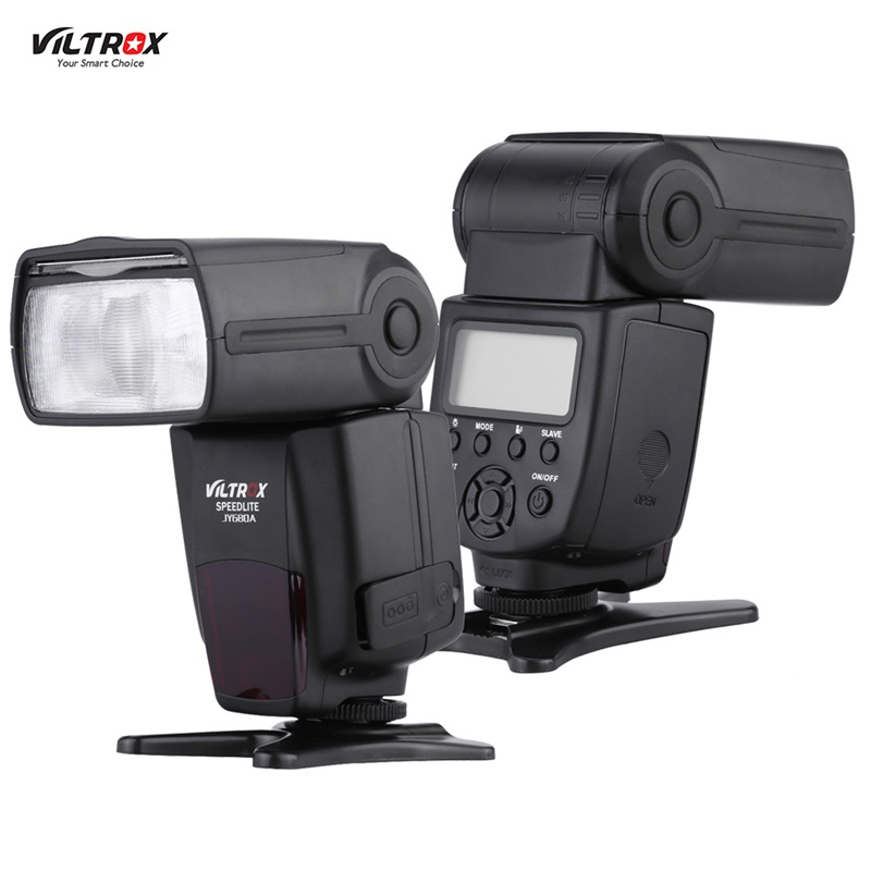 Manual Camera Flash lights/Speedlite VILTROX JY680A JY-680A Universal Master Slave Flash for Canon/Nikon/Pentax/Olympus