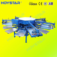 Semi Automatic Textile Screen Printing Machine for printing t-shirt