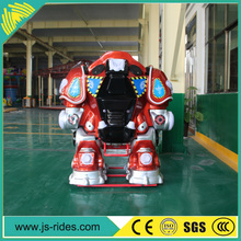 indoor and outdoor kids ride electric robot for sale