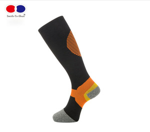 Custom design colorful deodorant bonvolant ankle athletic compression socks sport mmhg for running sport