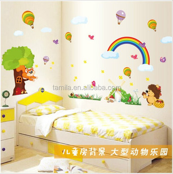 Kids Room Decorative Cartoon Wall Sticker