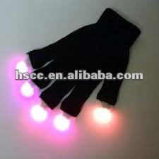 good quality light up magic Gloves with Customized Logo