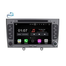 2GB RAM Quad Core Android 7.1.2 Multimedia Car DVD Navigation For peugeot 408/308/308SW Autoradio Stereo headunit