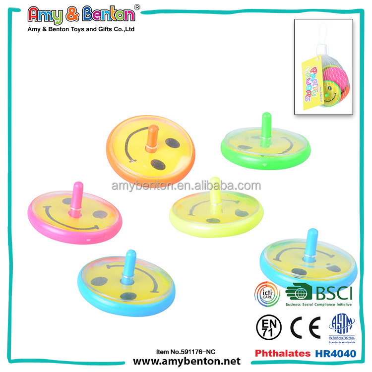 2016 New Products promotional toys spin top game for kids