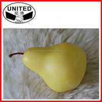 mini artificial pears faux fruit fake food for home decor