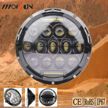 2015 newest high power LED headlight 75w with day time running light