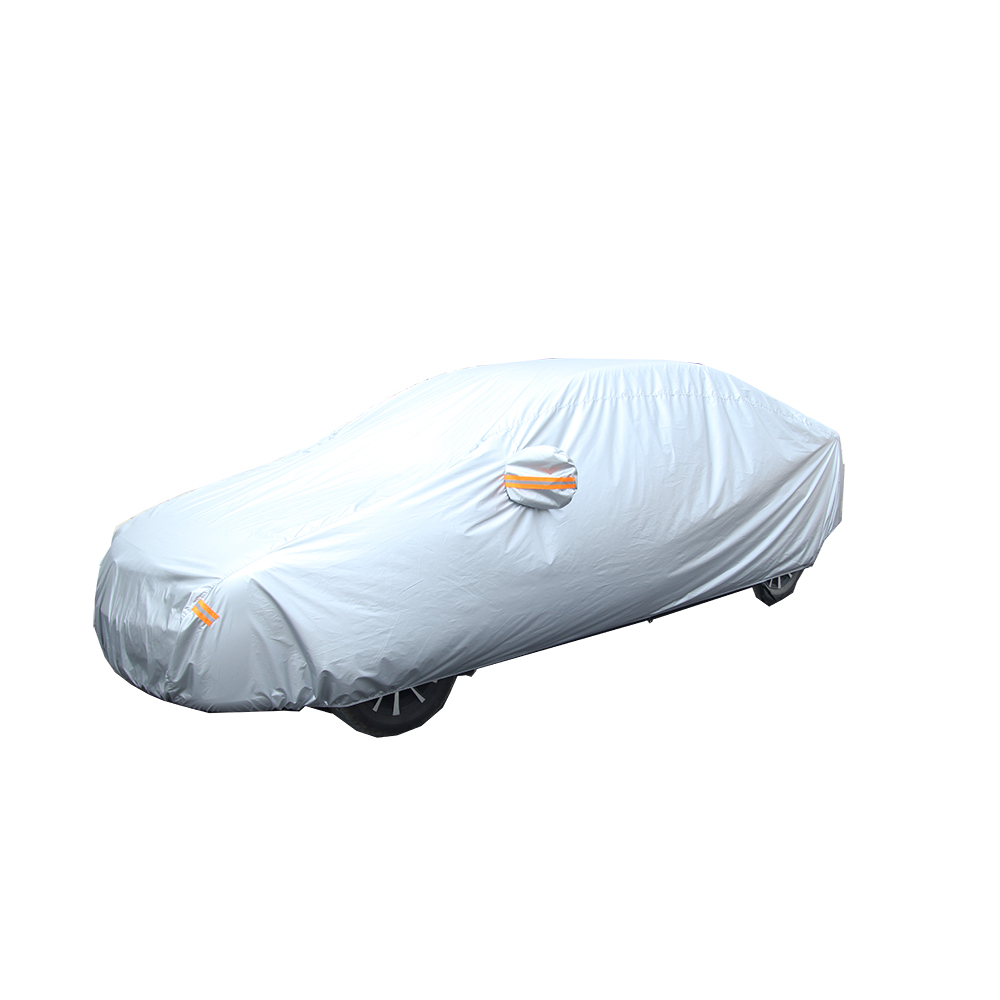 PEVA +PP COTTON SUNSHINE RAIN SNOW PROOF CAR COVER