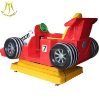 Hansel amusement park and electric fashion design kiddie rides with kiddie ride racing car for sale
