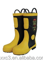 Firefighting waterproof safety boots