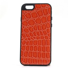 5 Colors Crocodile Leather Skin Soft Back Cover for iphone 6
