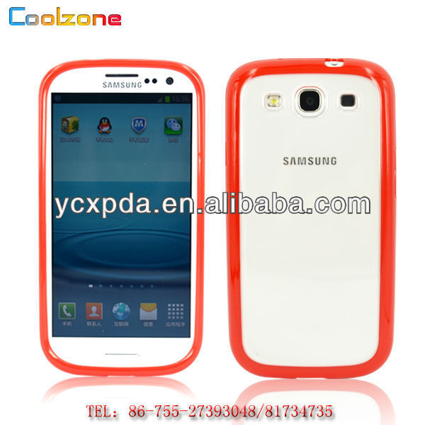 pc+tpu double color covers cases for Samsung Galaxy S3 i9300