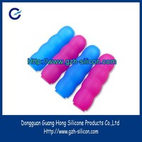 Custom silicon rubber sink part for protective handle