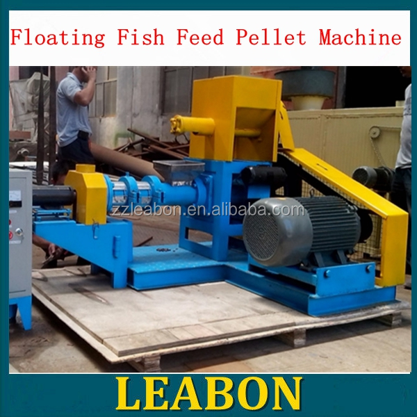 China LEABON selling cow dog animal feed pellet extruding machine food pellet mill machine extrusion machine