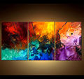 Xiamen Abstract Handmade Oil Painting Wholesale for Bar
