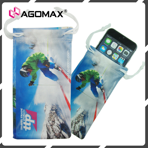 Hot selling all purpose microfiber cell phone pouches