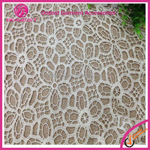 Lace Market In Guangzhou White Lace Fabric For Clothing