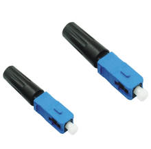mono mode SC / UPC Fast Optical Fiber Connectors , LAN / WAN Connections GPON online shop china field installable