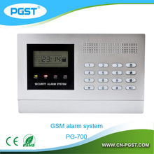 99 zones defence GSM burglar alarm system for home security PG-700, CE&ROHS