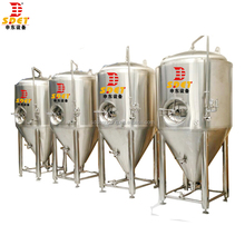 500L beer equipment/fermentation tank/brewery plant conical dimple jacket fermenter brewing fermenter machine equipment