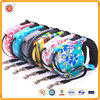 5 meter retractable cute colorful pet leashes