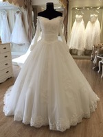 2015 cheap wedding dresses long sleeve imported from china