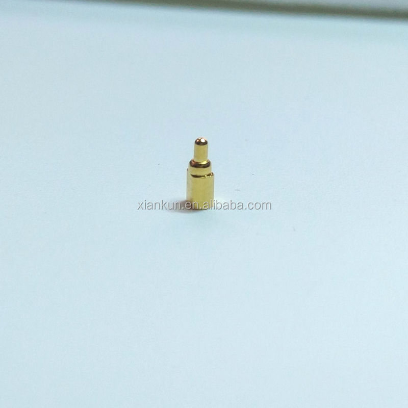 Pogo pin for tablet PC device plug connectors