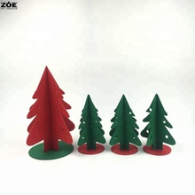Handcraft children DIY christmas ornaments felt christmas tree