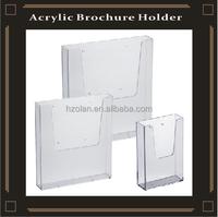 Leaflet Holder A4 A5 Wall Mount Retail Brochure Holders Menu Display
