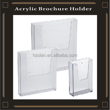 Leaflet Holder A4 A5 Wall Mount Retail Brochure Holders Menu Display