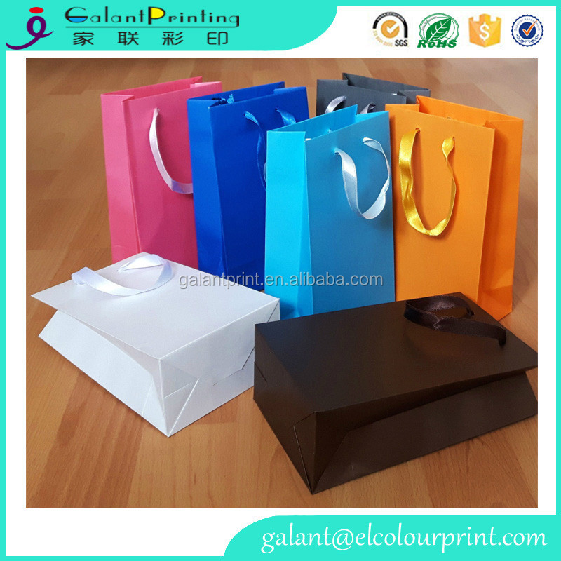 large size shopping carry paper bag/Christmas Kraft gift bag